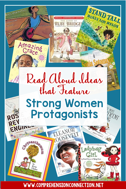 Strong women leaders provide great examples for our young girls. These book suggestions include strong women protagonists and are perfect for classroom instruction.