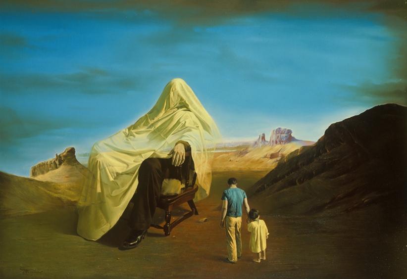 13-Self-Anecdote-Morteza-Katouzian-Oil-Paintings-Created-with-a-lot-of-Heart-www-designstack-co