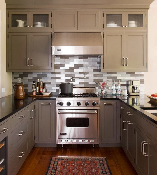 How To Make The Best Of Your Kitchenette: Modern Furniture: 2014 Easy Tips For Small Kitchen