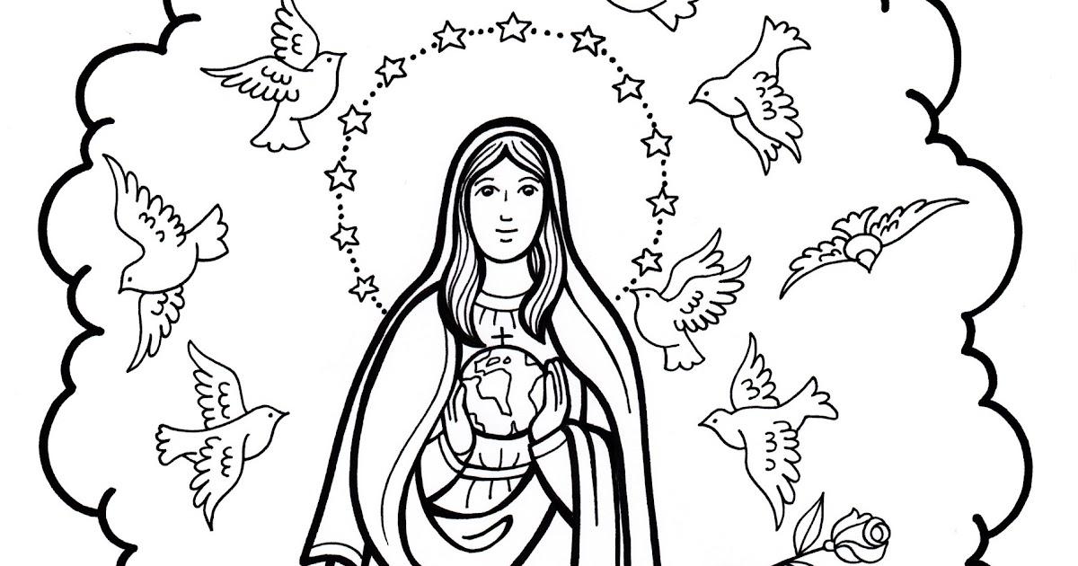Las Misiones Y Los Niños Dibujos Para Colorear De Niños: MATERIALES DE RELIGIÓN CATÓLICA