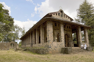 Iglesia Debre Birhan Selassie - Gondar