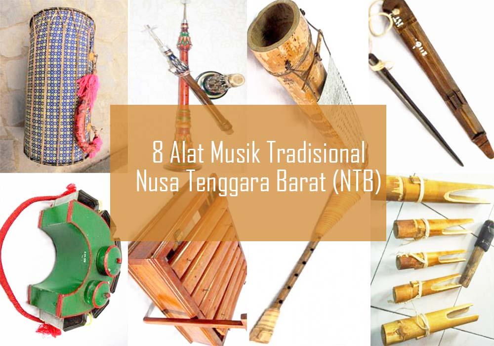 Inilah 8 Alat Musik Tradisional Dari NTB
