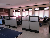 Knockdown Office Cubicle Divider Partition - Furniture Semarang