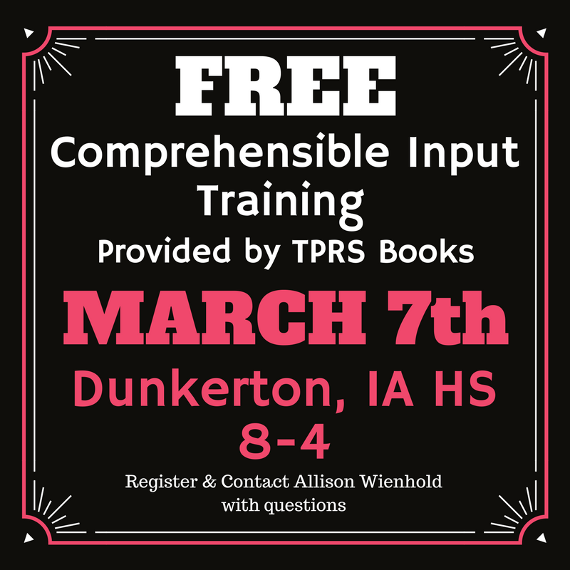 Free CI Training in Dunkerton, IA!