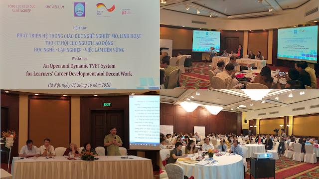 Tài nguyên Giáo dục Mở trong Giáo dục và Huấn luyện Kỹ thuật và Nghề nghiệp (OER trong TVET) - trong Hội thảo tại Hà Nội