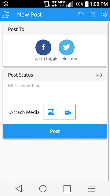 Simplifi Me Social Media Management Android App