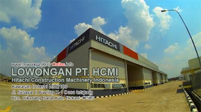Lowongan PT Hitachi Construction Machinery Indonesia HCMI