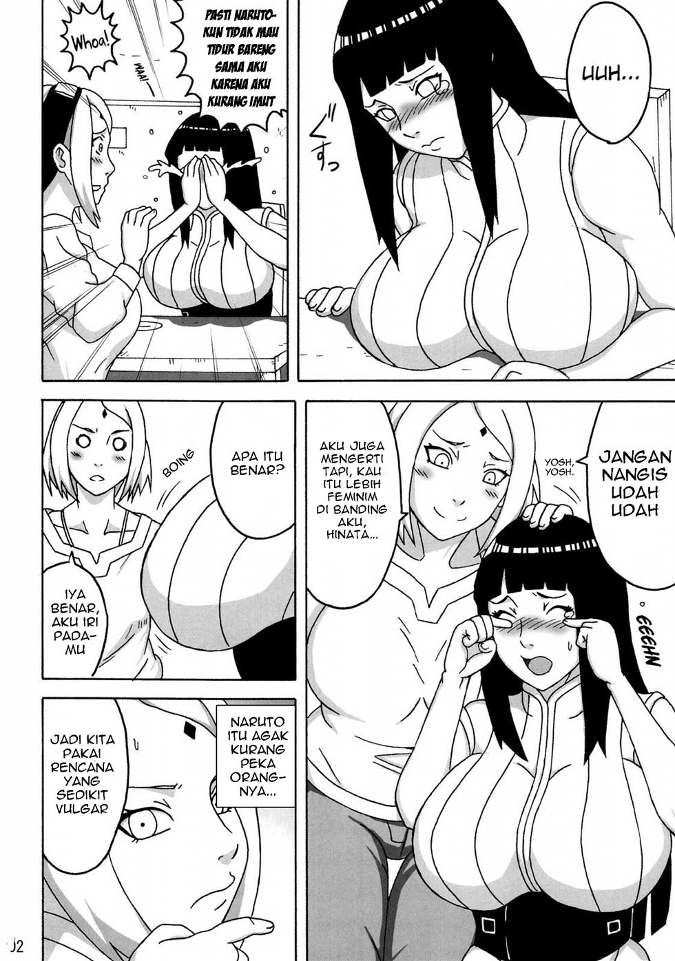 Komik hentai hinata really pleases