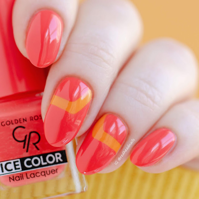 Golden Rose Ice Color 111 swatch