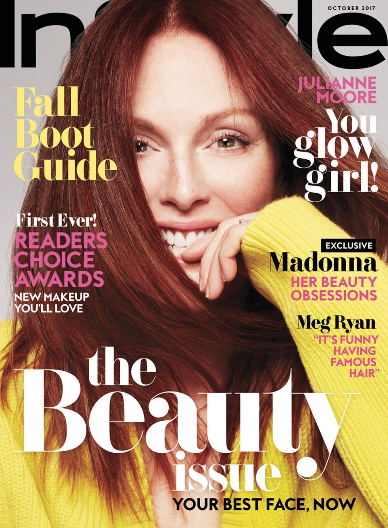 Julianne Moore covers InStyle October 2017