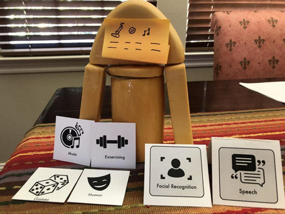 Dementia Caregivers Robots