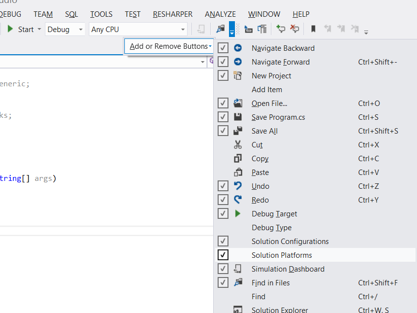 Managing multiple platforms in Visual Studio | xoofx