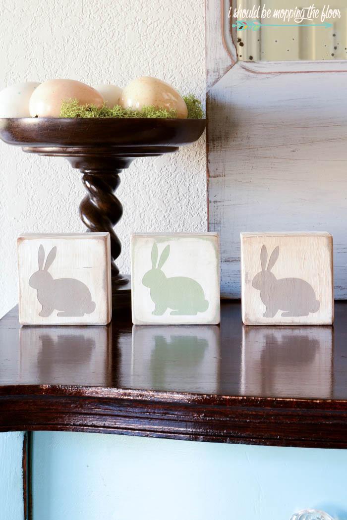 2x4 Easter Bunnies