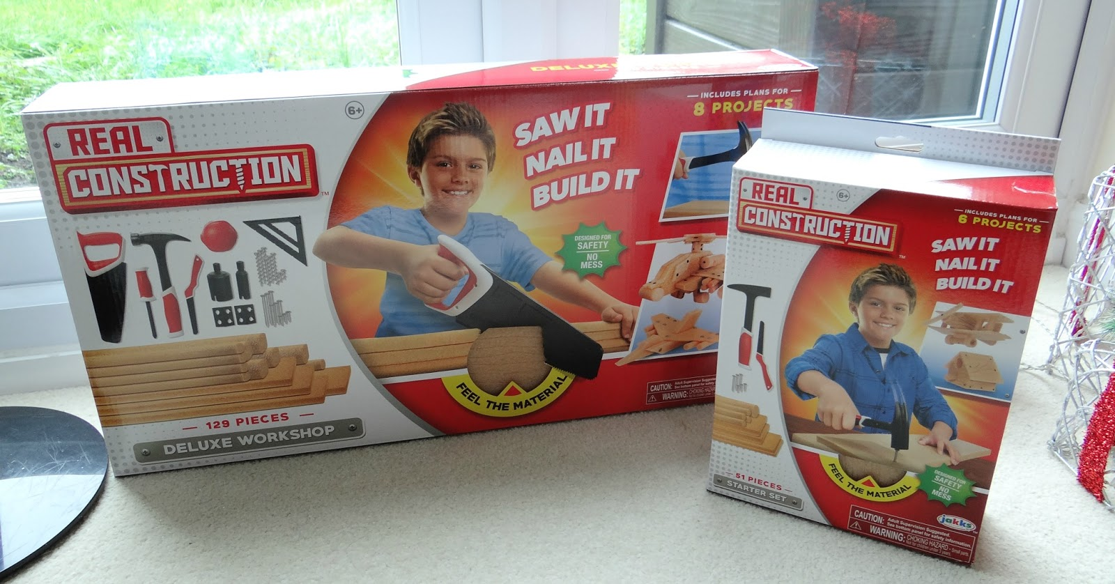 Real Construction, building tools for kids, Christmas gift for budding builders