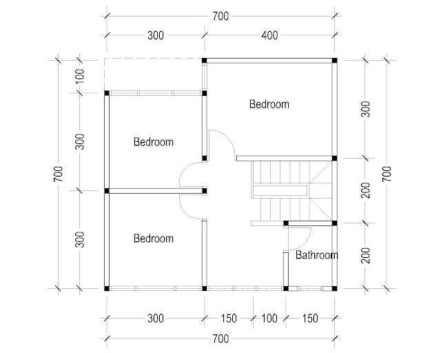 2nd Floor Plan for plan c-24