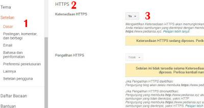 Hypertext Transfer Protocol Secure atau HTTPS ialah protokol yang memakai HTTP pada  Cara Merubah HTTP Menjadi HTTPS di Blog TLD [Gratis]
