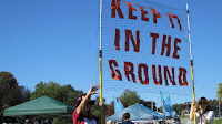 Keep It in the Ground banner (Credit: Robert Ashworth / https://www.flickr.com/photos/theslowlane/15327153662/) Click to Enlarge.