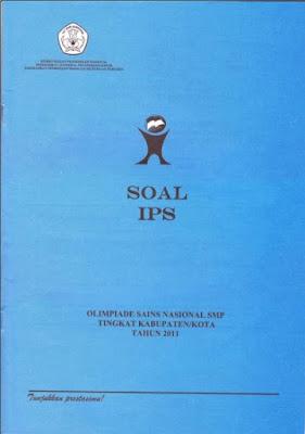 Latihan Soal OSN IPS SMP Tingkat Kabupaten 2011