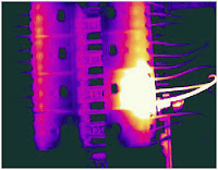 Data Center Infrared Scanning Thermography hotspots