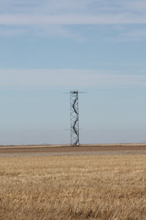 Tower In A Field.