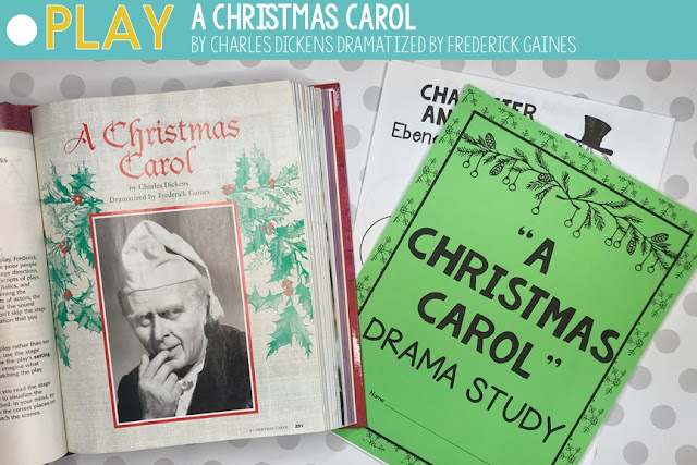 A Christmas Carol lesson plans and activities for the classroom