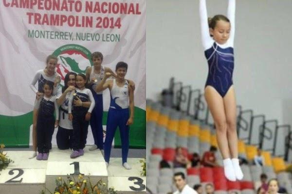 Por falta de recursos, Conade no apoyará a niña que calificó al Mundial de Gimnasia en Bulgaria.