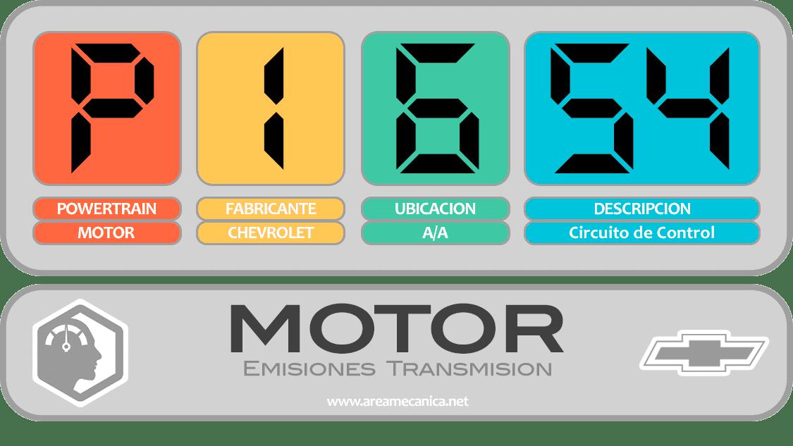 CODIGOS DE FALLA: Chevrolet (P1600-P16FF) Motor | OBD2 | DTC