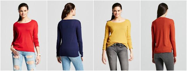 Mossimo Scoop Neck Sweater $10 (reg $20)
