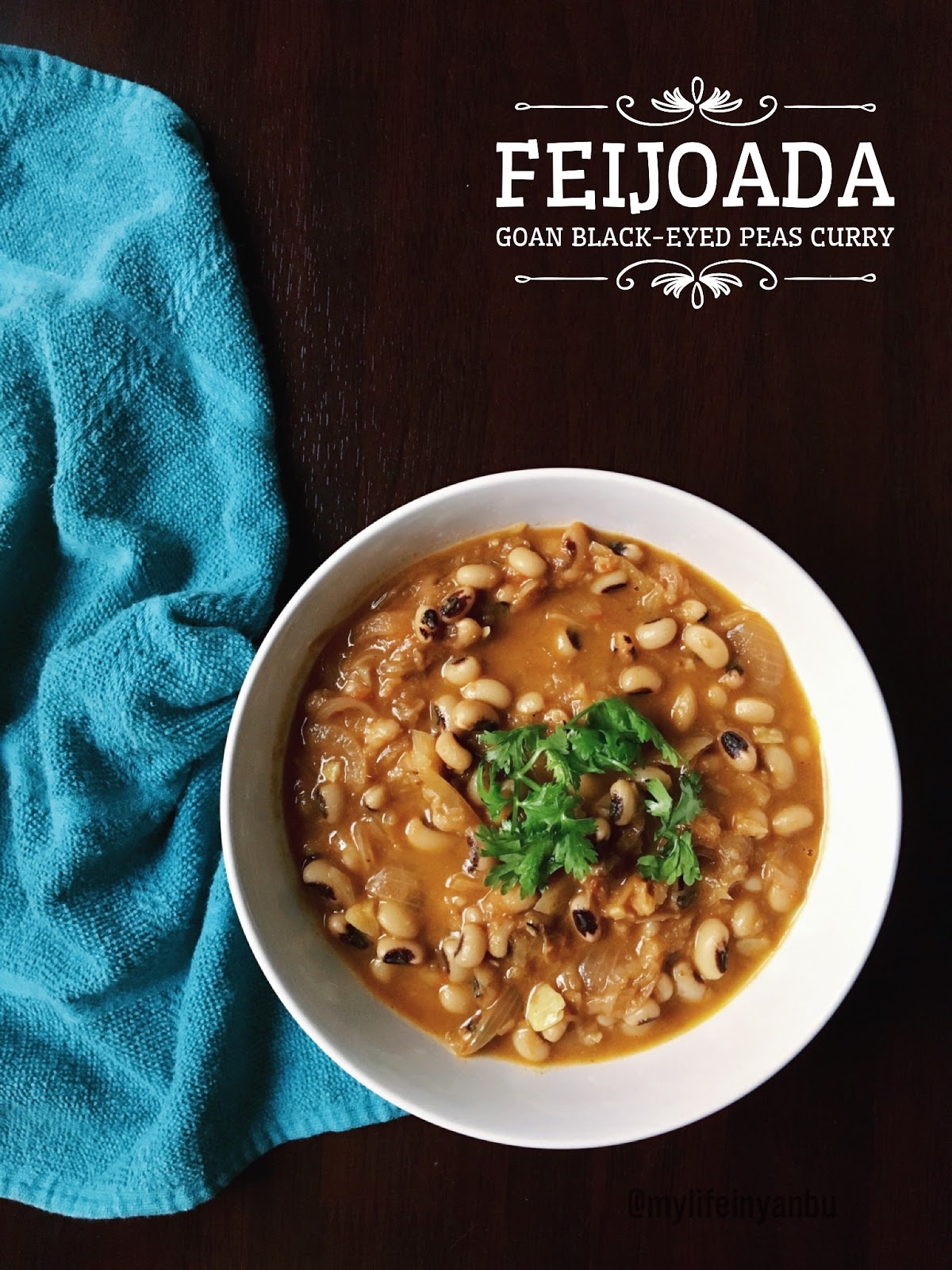 Feijoada | Goan Black-eyed Peas Curry