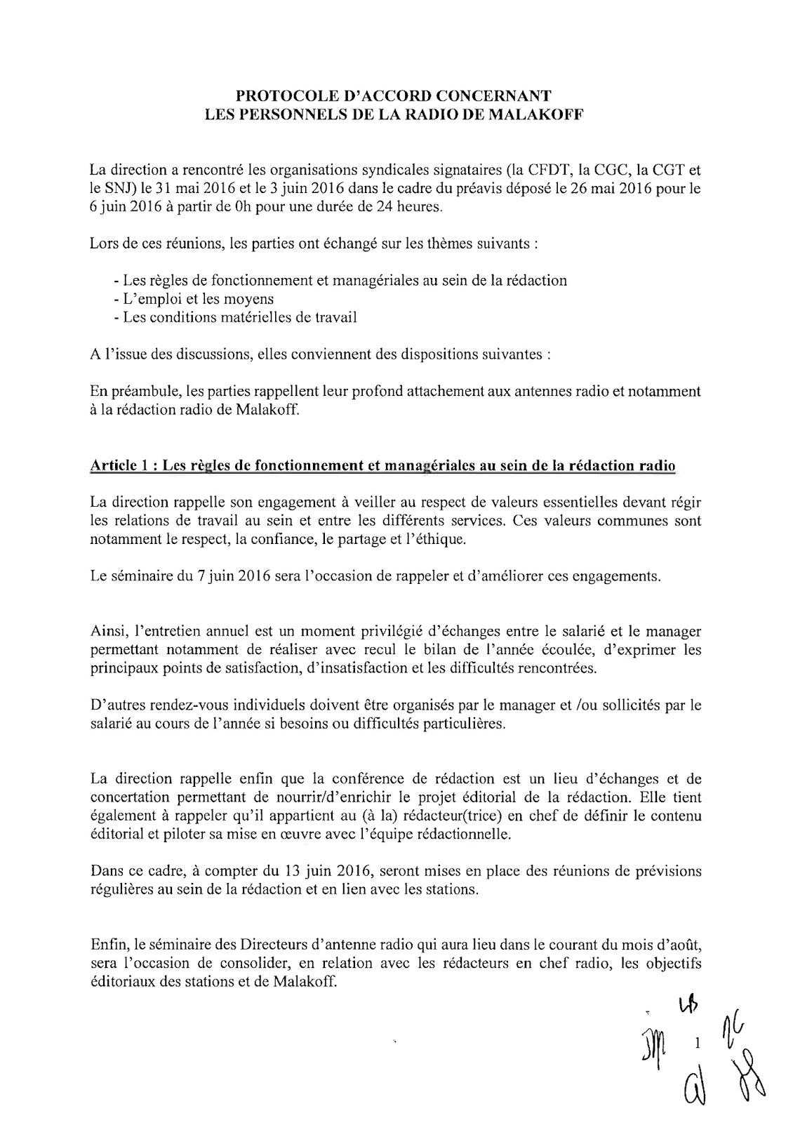 Le blog cgc des m dias 29 mai 2016 for Redaction sur le respect