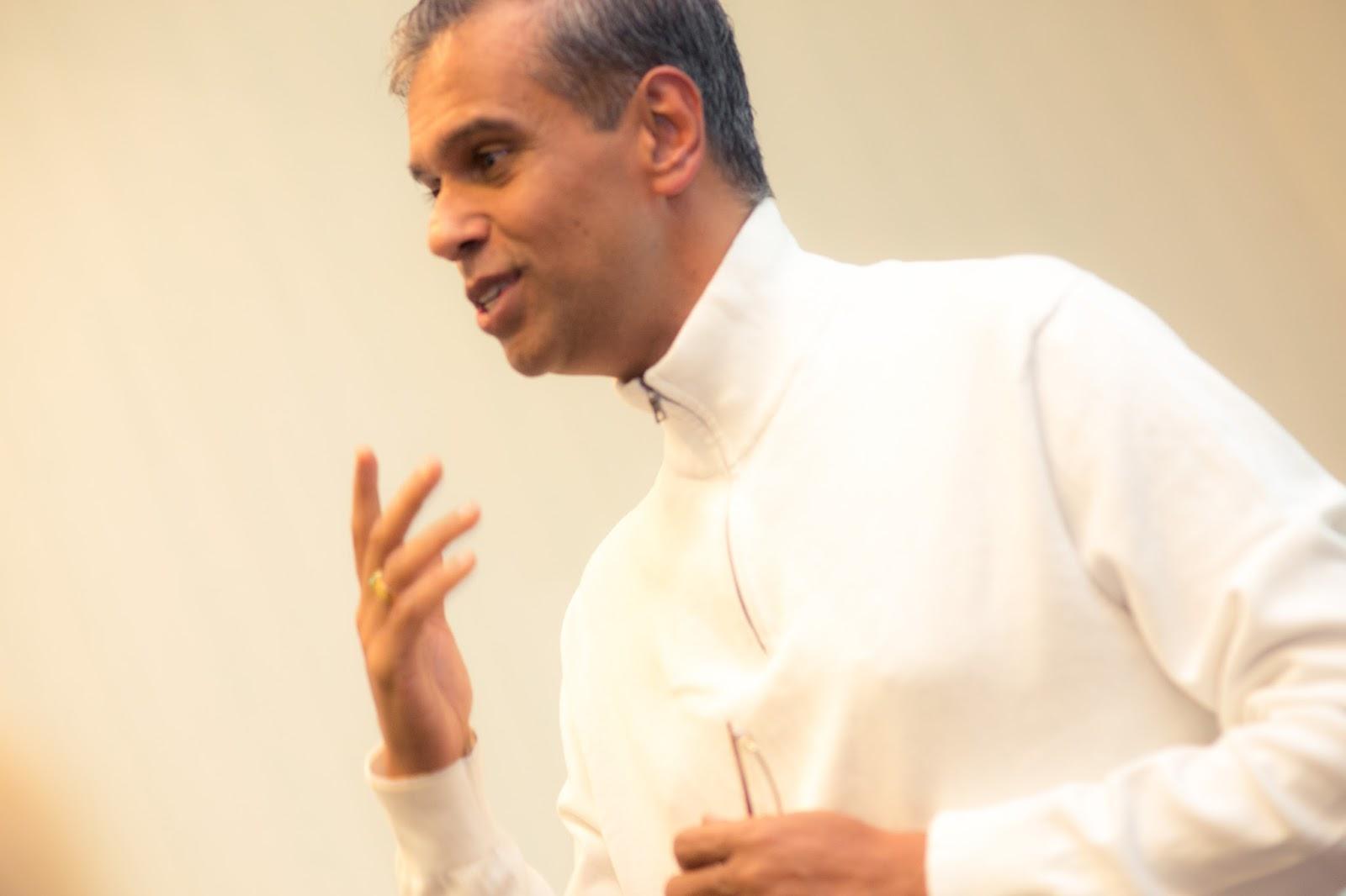 Kviečiame į susitikimus su Ravi Nataradžanu