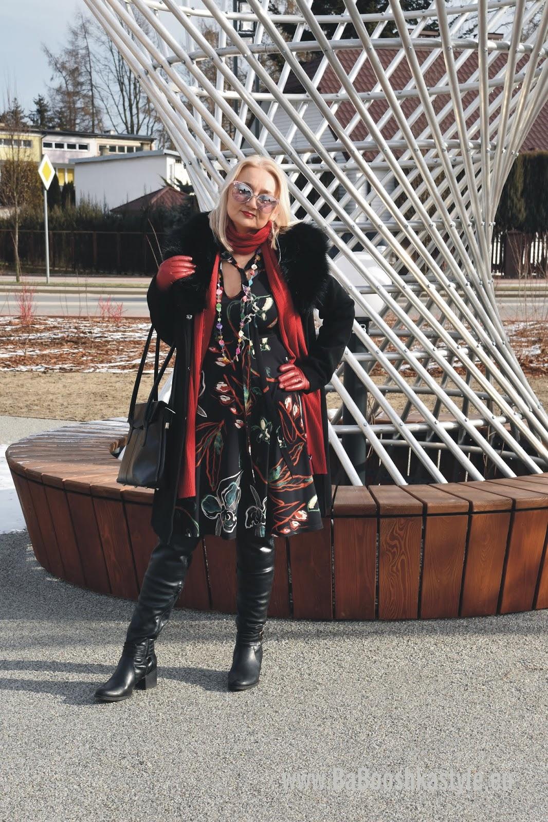 babooshkastyle, babooshka stylistka, stylistka, personal shopper,vintage, Orsay, Zara, Deichmann, skórzana, over50plus, modna50