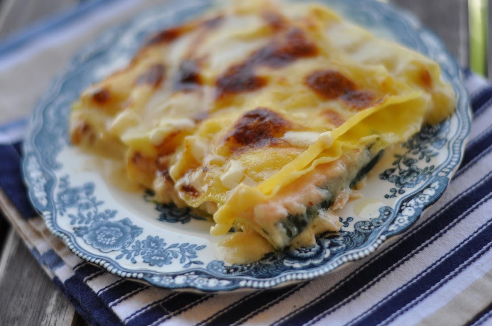 [I love food] Lasagnetta con salmone, brie e zucchine