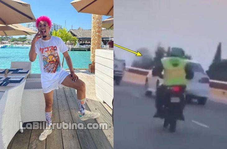 """Video: Agente Digesett franquea vehículo de """"Kiko El Crazy"""""""
