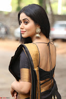 Poorna in Cute Backless Choli Saree Stunning Beauty at Avantika Movie platinum Disc Function ~  Exclusive 026.JPG