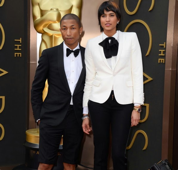Stylish-Celebrity-Fashion-Couples-Pharrell-Williams-and-Helen