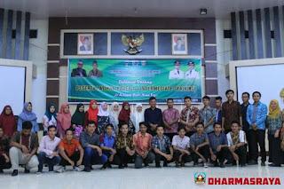 Himpunan Mahasiswa Islam (HMI) Cabang  Dharmasraya Menggelar Intermediate Training (Latihan Kader II)