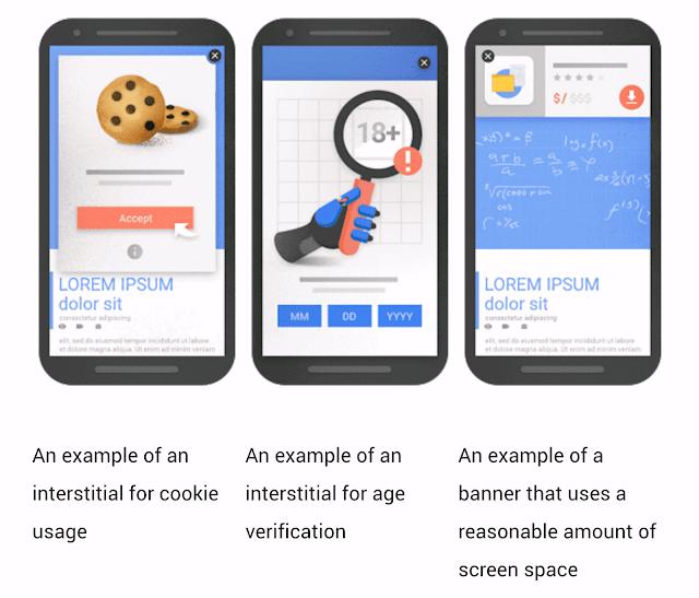 Pop-Up Yang Diizinkan Google