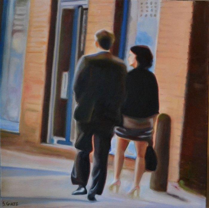 Канадский художник. Stephen Gaetz