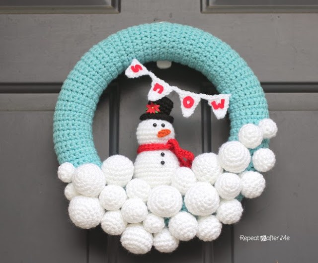 12 Weeks of FREE Christmas Crochet Projects