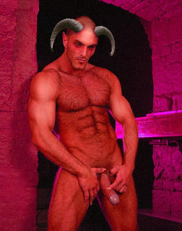 Nackte Männer für Halloween, Jaime alma nackt