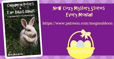 New Cozy Mystery Short Stories Every Month on Patreon!