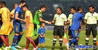 Sriwijaya FC vs Persib Bandung Dipimpin Wasit Lokal