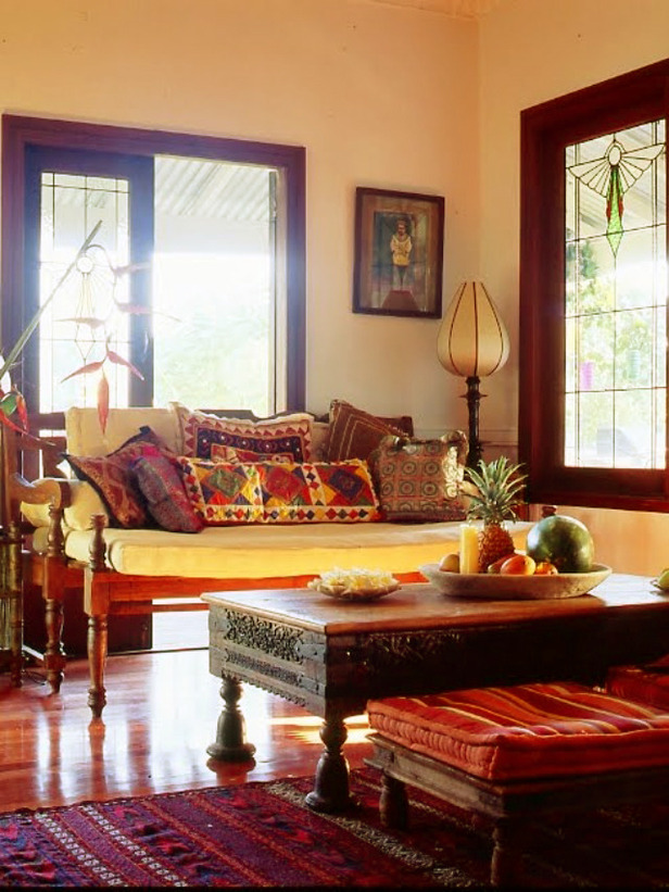 faux leather sofa india chocolate brown set intra design: indian inspired home decore