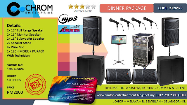 Sfi Entertainment Amp Creations Khidmat Sewa Pa Sound