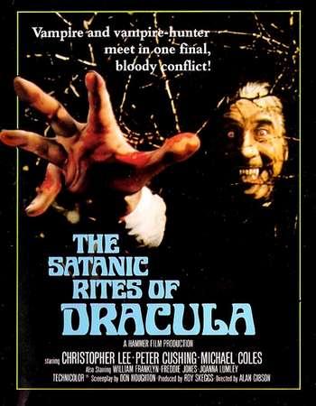 Poster Of The Satanic Rites of Dracula 1973 Dual Audio 300MB DVDRip 480p Free Download Watch Online Worldfree4u