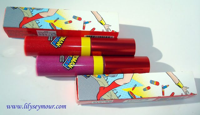 Mac Wonder Woman Lip Glosses