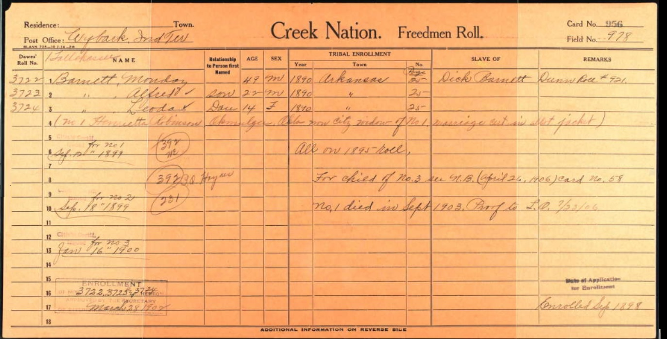 October 20 1832 Representatives of the Chickasaw Indians sign