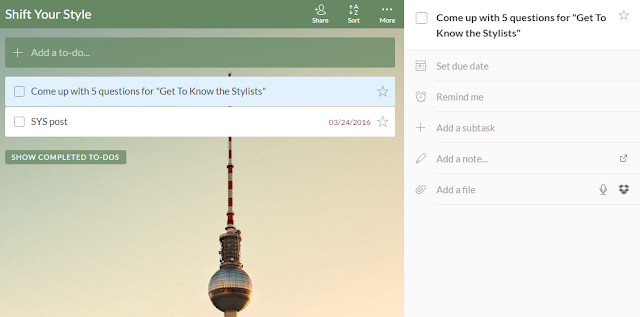 How to use wunderlist