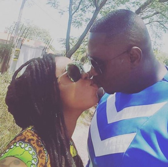 Afia Schwarzenegger with her new husband